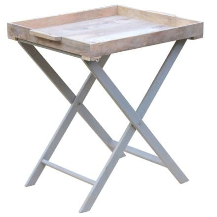 Nordic Grey Collection Large Butler Tray Table